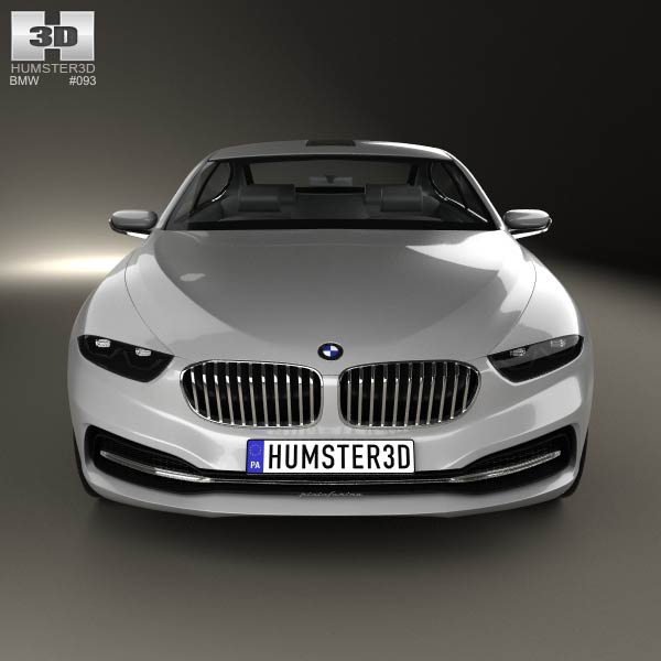 Bmw Zagato Roadster: BMW Gran Lusso Coupe 2013 3D Model For Download In Various