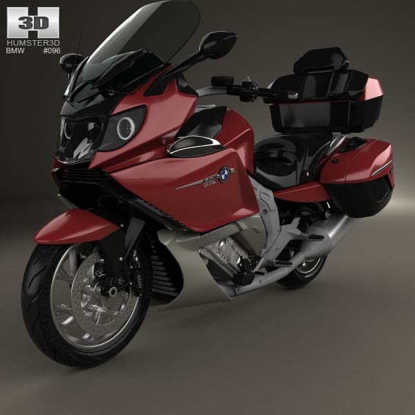 Bmw K 1600 Gtl 2013 3d Model For Download In Various Formats