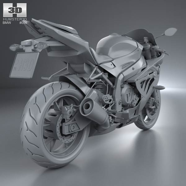 Bmw S1000rr 2013 3d Model For Download In Various Formats