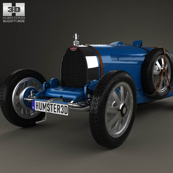 Bugatti Veyron Grand Sport World Record Edition 2011 3d: Bugatti Type 35 1924 3D Model For Download In Various Formats