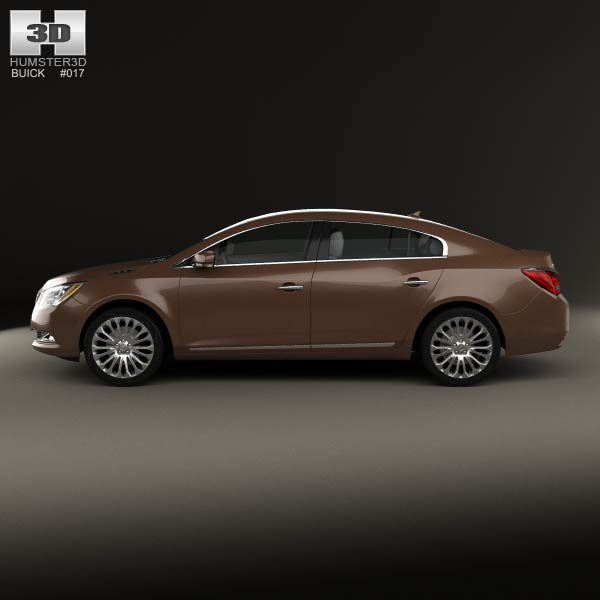2013 Buick Lacross: Buick LaCrosse (Allure) 2014 3D Model For Download In