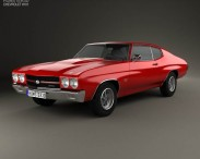 Chevrolet Chevelle SS 396 hardtop coupe 1970