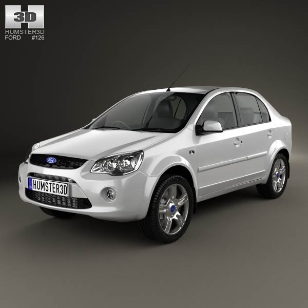 Ford Ikon 2012 3d Model For Download In Various Formats