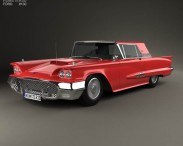 Ford Thunderbird Sport Coupe 1958