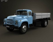 ZIL 130 Flatbed Truck 1964