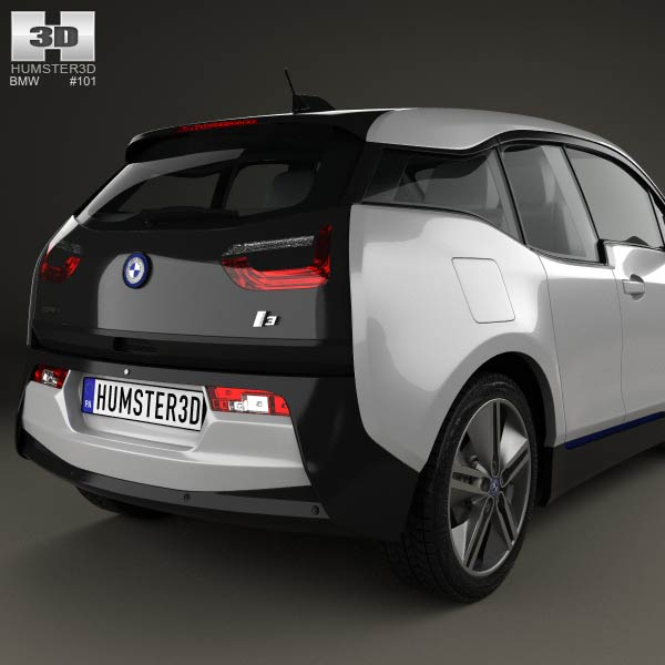 2014 Bmw 335i Coupe: BMW I3 2014 3D Model For Download In Various Formats