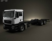MAN TGS Chassis Truck 2012