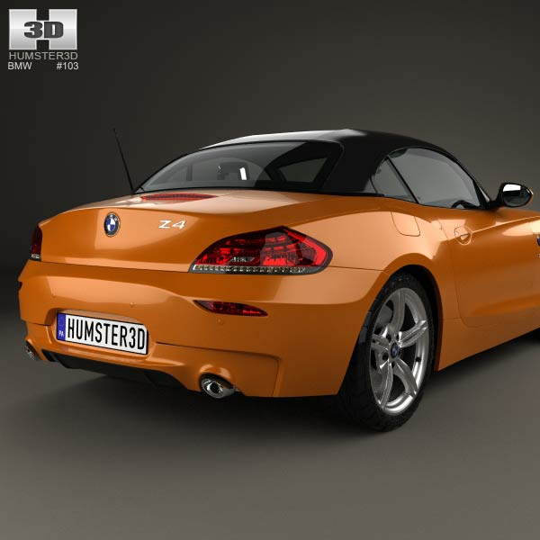 BMW Z4 (E89) Roadster 2013 3D Model For Download In