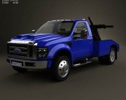 Ford Super Duty F-550 Tow Truck with HQ interior 2005