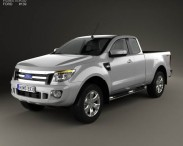 Ford Ranger Super Cab 2011