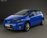 Toyota Auris hatchback 5-door with HQ interior 2013
