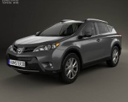 Toyota RAV4 with HQ interior 2013