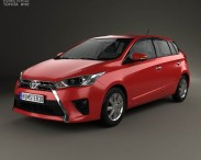 Toyota Yaris 5-door hatchback 2014