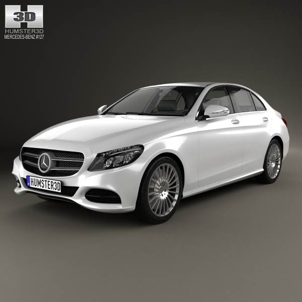 mercedes benz c class w205 sedan 2014 3d model for download in. Cars Review. Best American Auto & Cars Review
