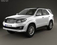 Toyota Fortuner with HQ interior 2013