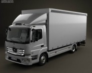 Mercedes-Benz Atego Box Truck 2013