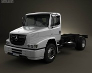 Mercedes-Benz Atron Chassis Truck 2011