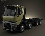 Renault C Chassis Truck 2013