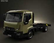 Renault D 7.5 Chassis Truck 2013