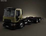 Renault D Wide Chassis Truck 2013