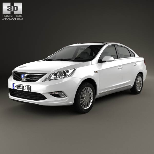 Changan Eado 2011 3D Model For Download In Various Formats