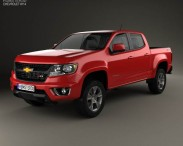 Chevrolet Colorado Double Cab 2014