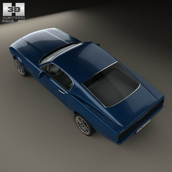 Equss Bass 770: Equus Bass 770 2014 3D Model For Download In Various Formats