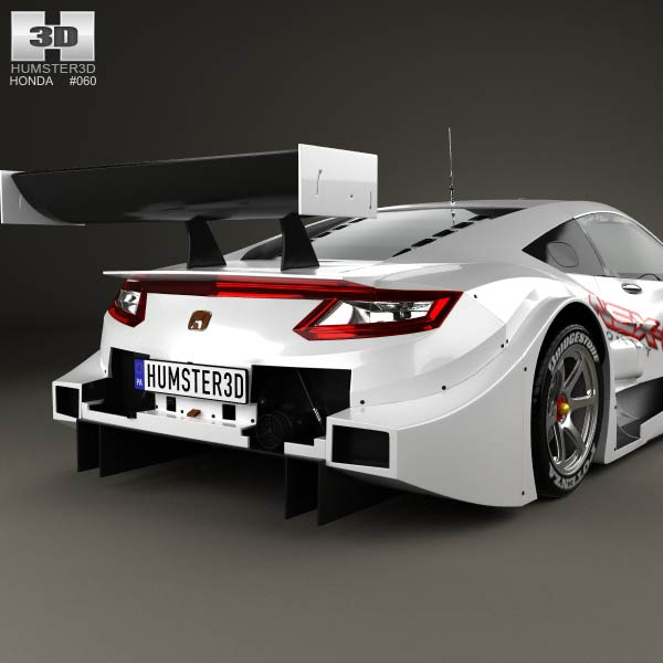 2014 Honda Nsx Concept: Honda NSX GT 2013 3D Model For Download In Various Formats