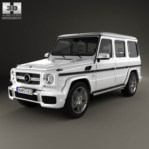 Mercedes benz g class 65 amg 2013 3d model for download in for 2013 mercedes benz g class
