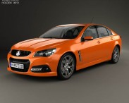 Holden VF Commodore Calais V SSV with HQ interior 2013