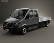 Mercedes-Benz Sprinter Drop Side Double Cab 2013