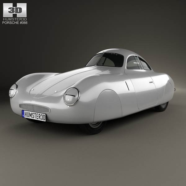 Porsche Type 64 1939 3d Model For Download In Various Formats