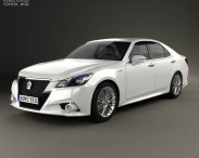 Toyota Crown Hybrid Athlete 2013