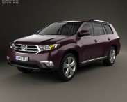 Toyota Highlander with HQ interior 2011