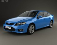 Ford FG Falcon XR6 sedan 2011
