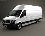 Mercedes-Benz Sprinter Panel Van ELWB SHR 2013