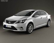 Toyota Avensis with HQ interior 2012