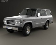 Toyota Land Cruiser (J60) US 1987