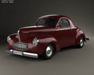Willys Americar DeLuxe Coupe 1940