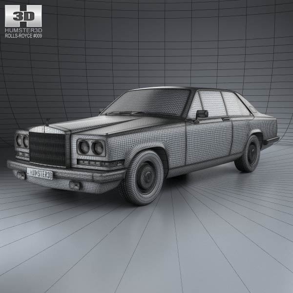Rolls-Royce Camargue 1975 3D Model For Download In Various