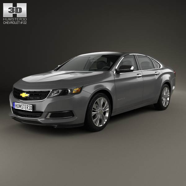 Chevrolet Impala LS 2014 3D Model For Download In Various