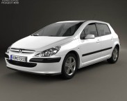 Peugeot 307 5-door hatchback 2001