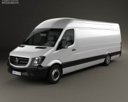 Mercedes-Benz Sprinter Panel Van ELWB HR 2013