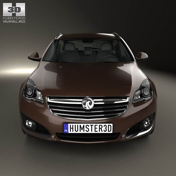 Vauxhall Insignia Sports Tourer 2013 3D Model For Download