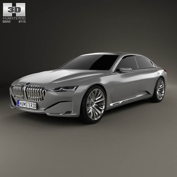 Bmw Vision Future Luxury 2014 3d Model For Download In Various Formats