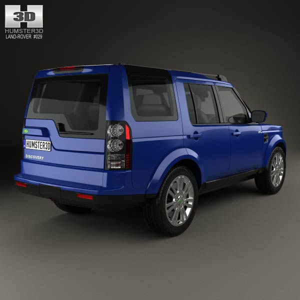 Land Rover Discovery 4 Lr4 2012 3d Model: Land Rover Discovery 2014 3D Model For Download In Various