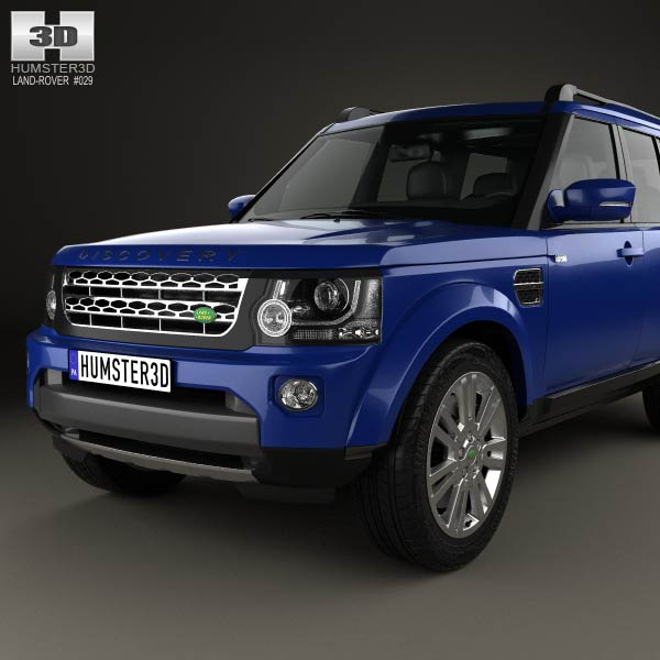Land Rover Discovery 2014 3D Model For Download In Various