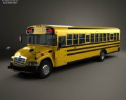 Blue Bird Vision School Bus 2014