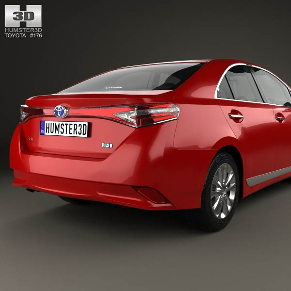 toyota sai g 2013 3d model for download in various formats