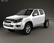 Isuzu D-Max Double Cab Chassis 2012